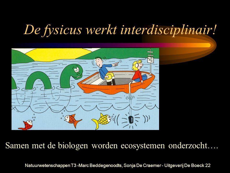 De fysicus werkt interdisciplinair!