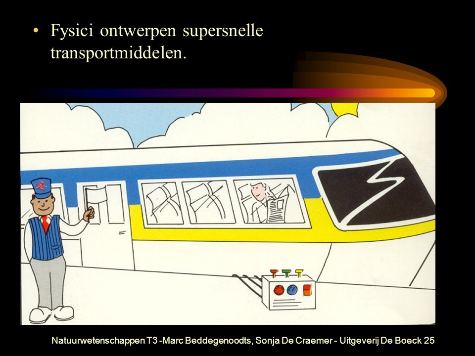 Fysici ontwerpen supersnelle transportmiddelen.