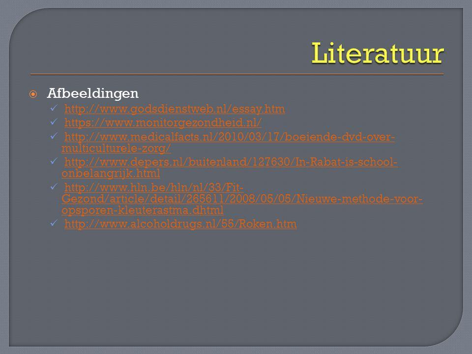 Literatuur Afbeeldingen http://www.godsdienstweb.nl/essay.htm