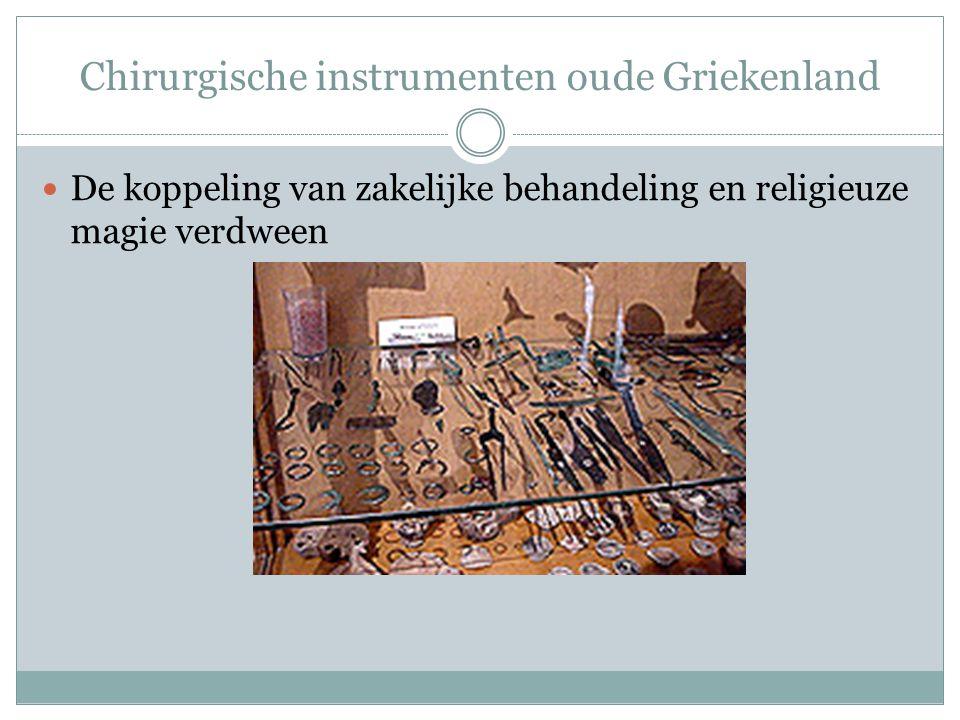 Chirurgische instrumenten oude Griekenland