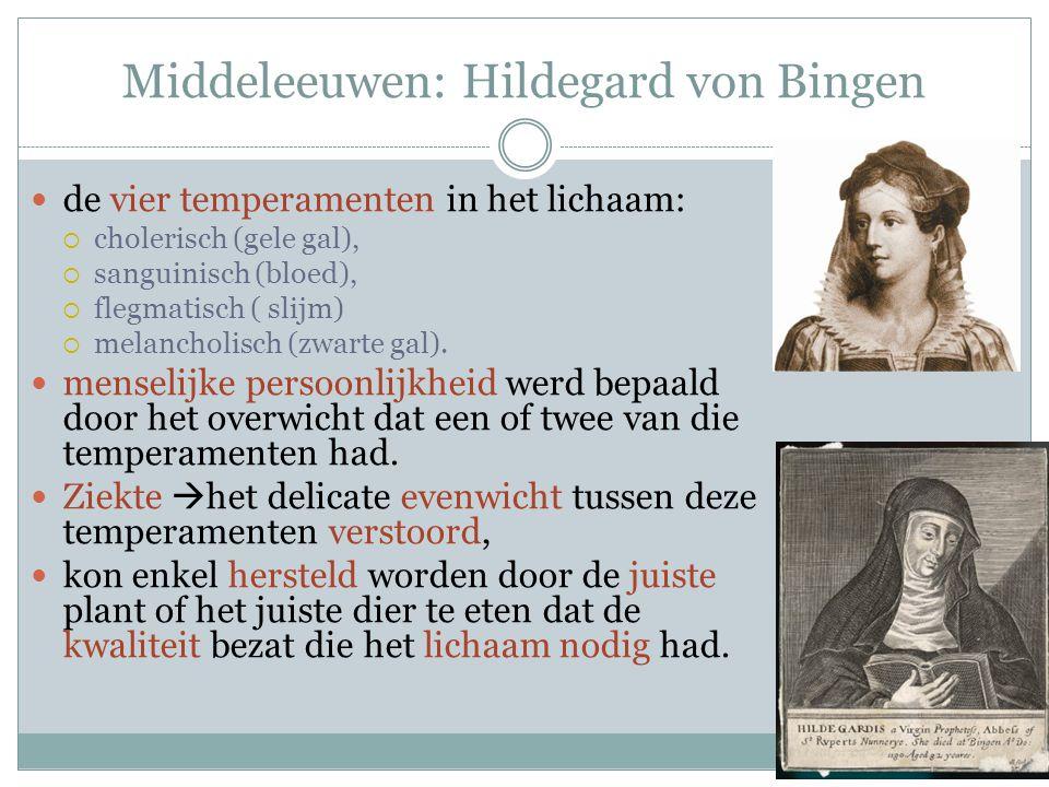 Middeleeuwen: Hildegard von Bingen