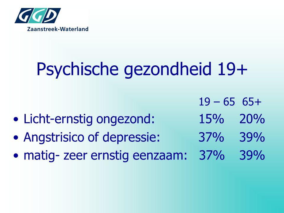 Psychische gezondheid 19+