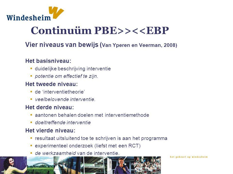 Continuüm PBE>><<EBP