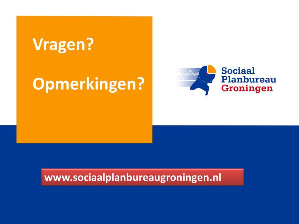 Vragen Opmerkingen www.sociaalplanbureaugroningen.nl