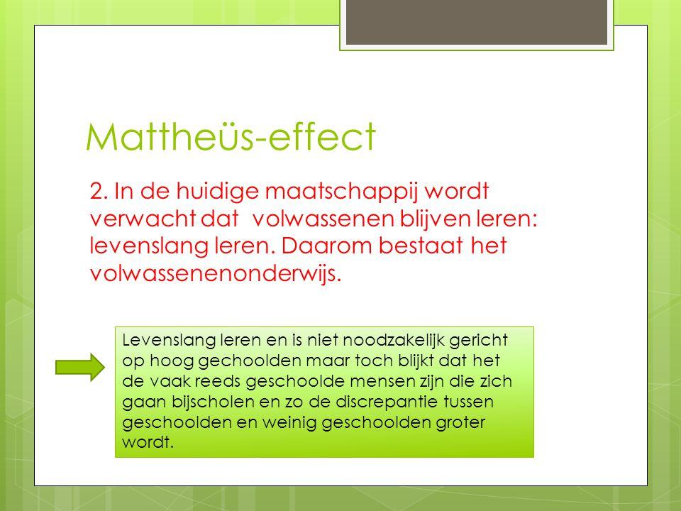 Mattheüs-effect