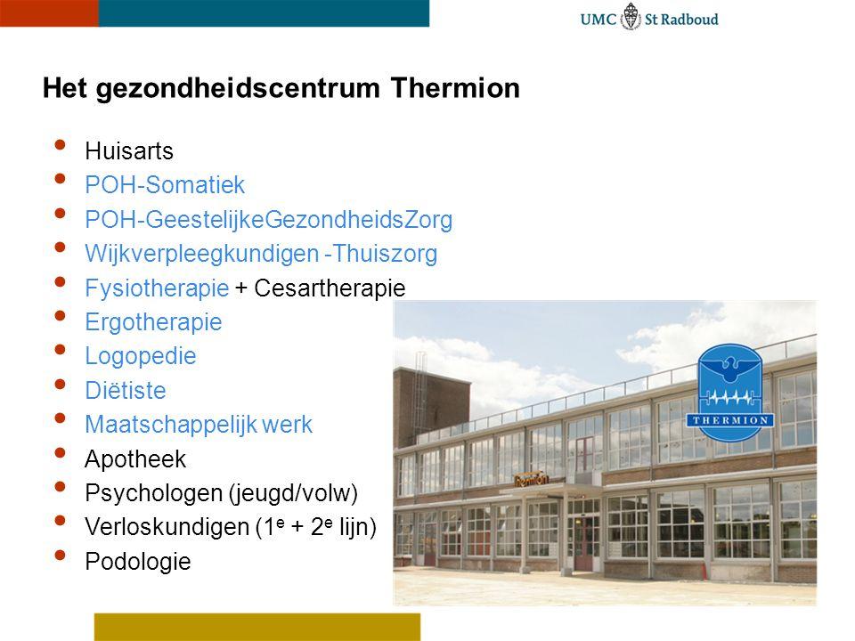 Het gezondheidscentrum Thermion