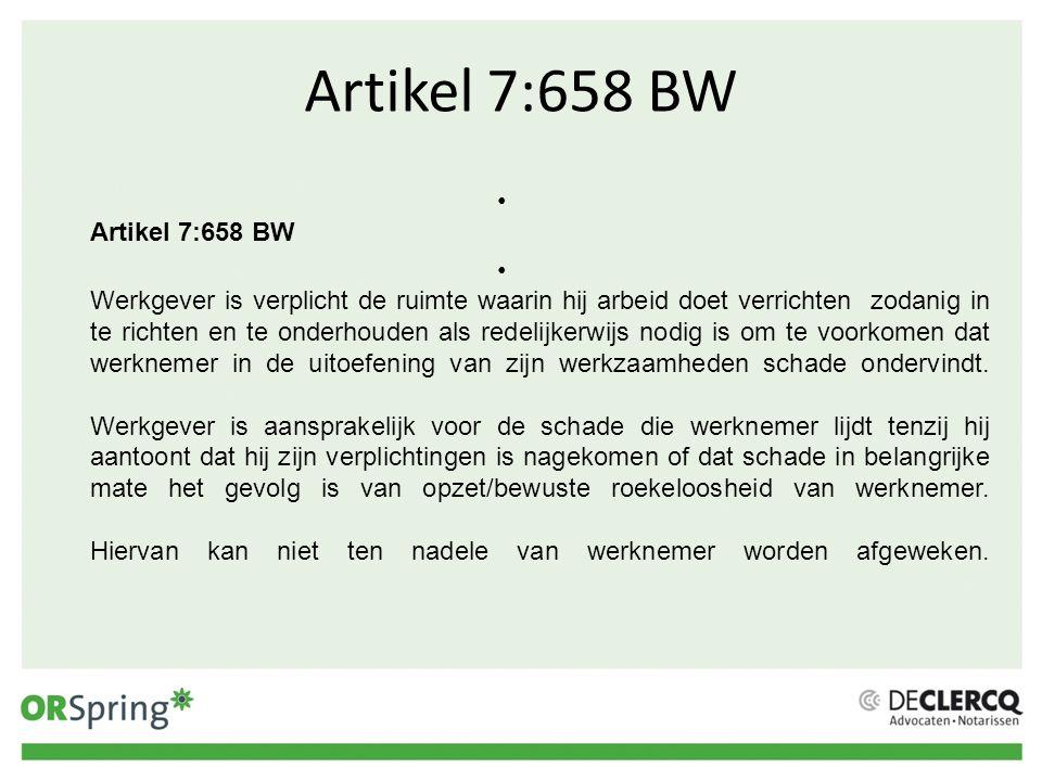 Artikel 7:658 BW Artikel 7:658 BW