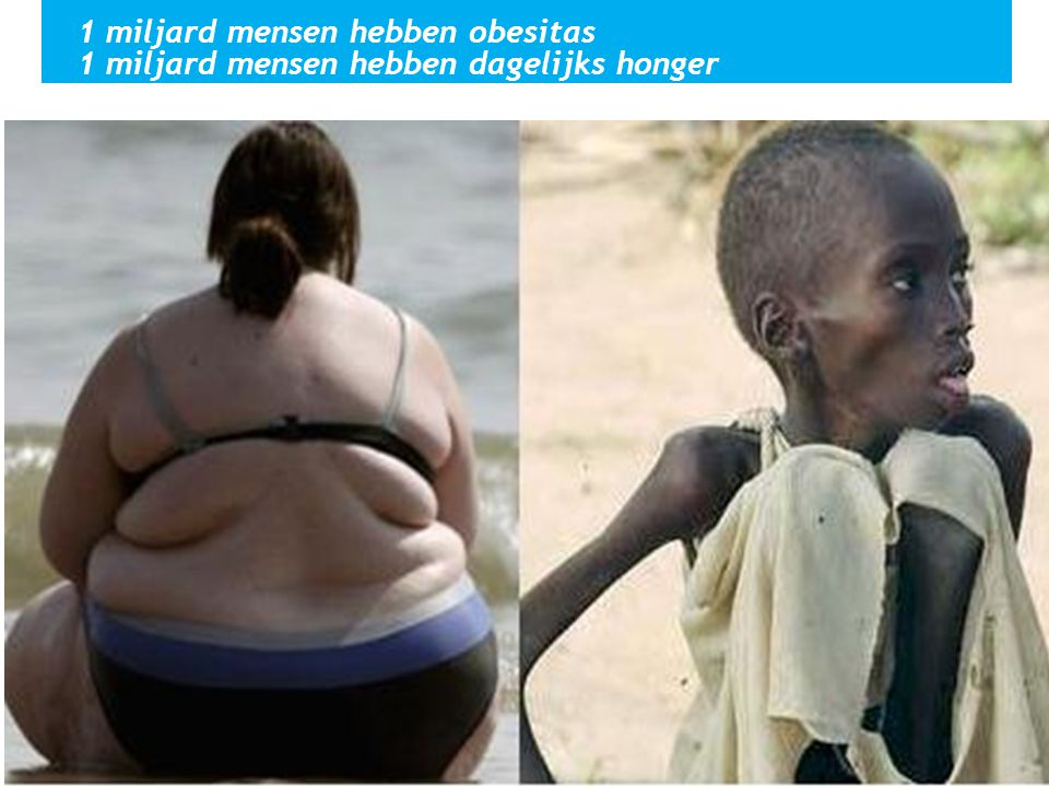 1 miljard mensen hebben obesitas
