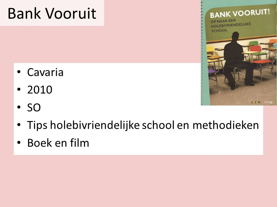 Bank Vooruit Cavaria 2010 SO