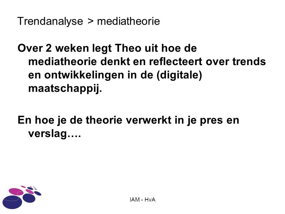 Trendanalyse > mediatheorie