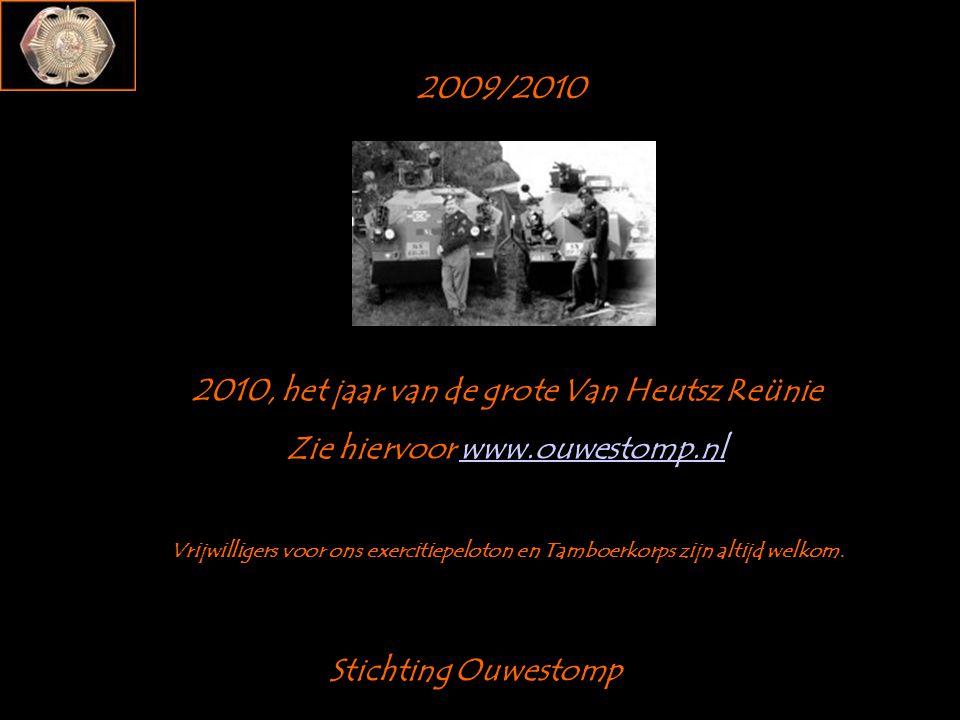 2010, het jaar van de grote Van Heutsz Reünie