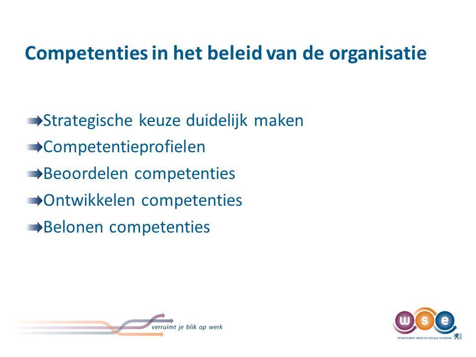Meer weten over beleid over competenties. http://www. werk