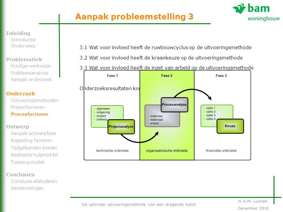 Aanpak probleemstelling 3