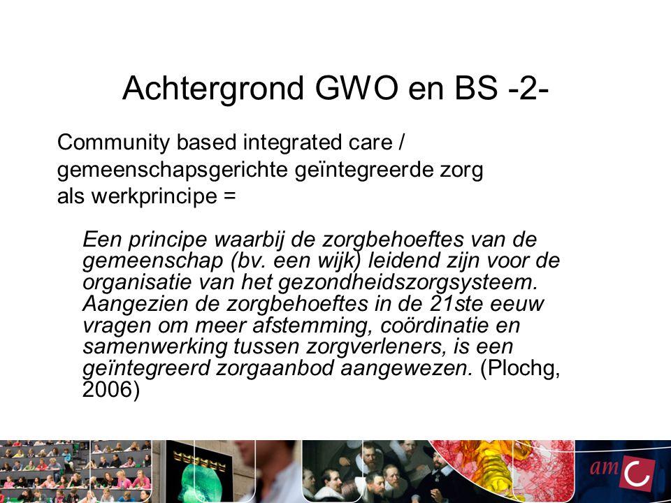 Achtergrond GWO en BS -2-