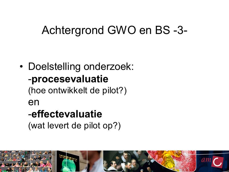 Achtergrond GWO en BS -3-