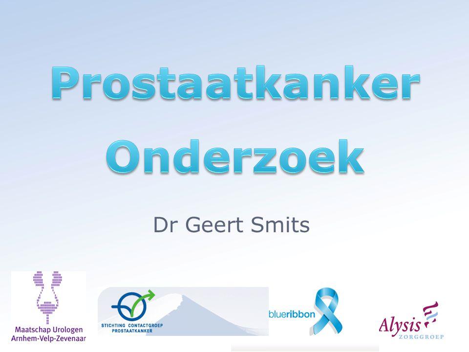 Prostaatkanker Onderzoek
