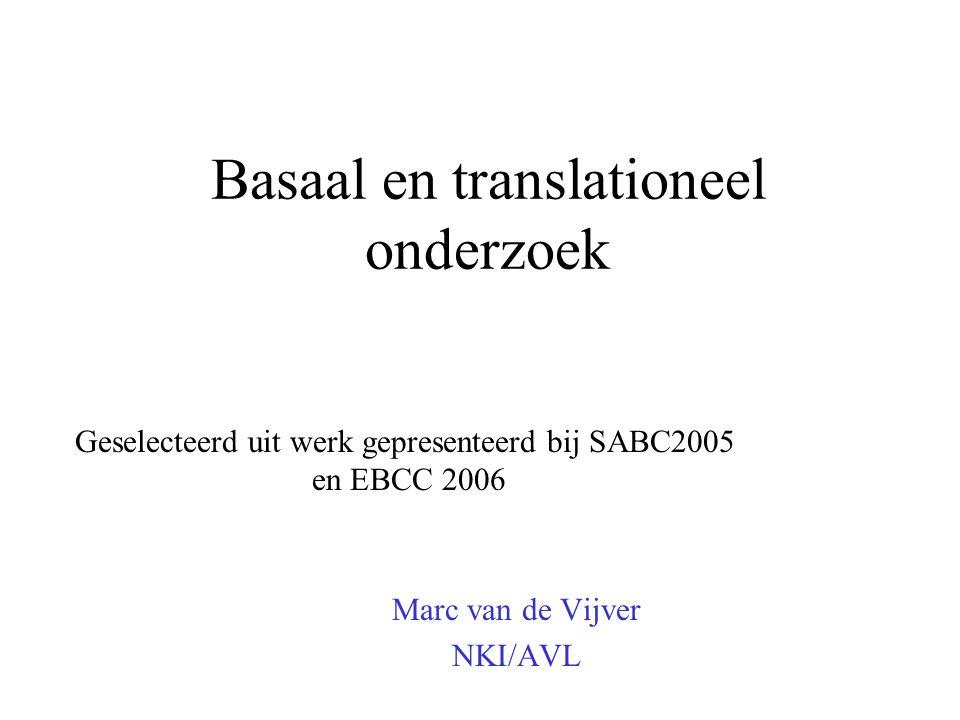 Basaal en translationeel onderzoek