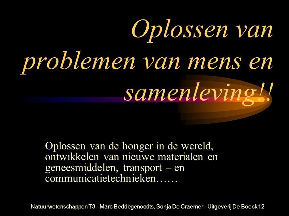 Oplossen van problemen van mens en samenleving!!