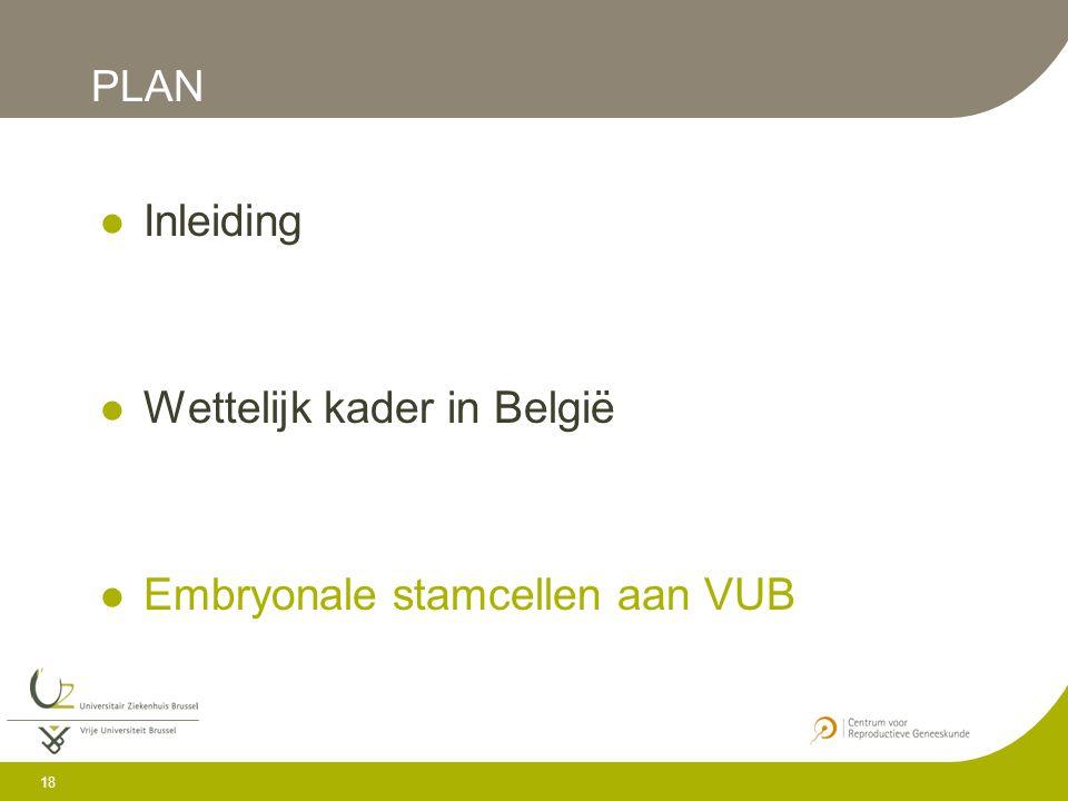 Wettelijk kader in België