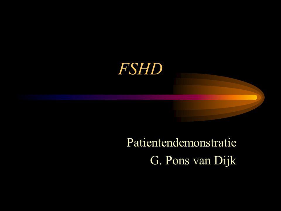 Patientendemonstratie G. Pons van Dijk