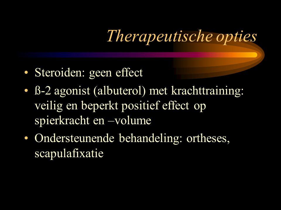 Therapeutische opties