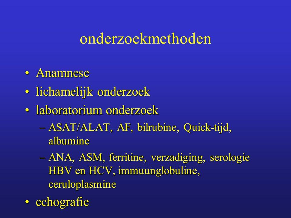 onderzoekmethoden Anamnese lichamelijk onderzoek