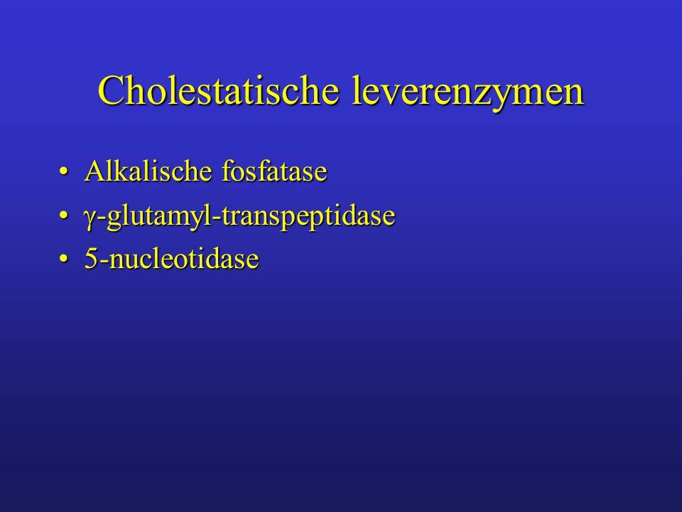 Cholestatische leverenzymen