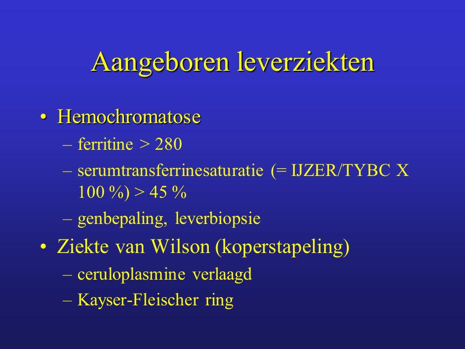 Aangeboren leverziekten