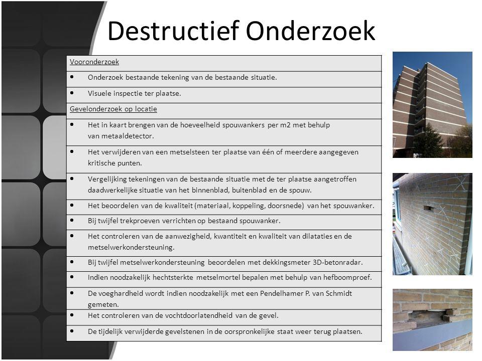 Destructief Onderzoek