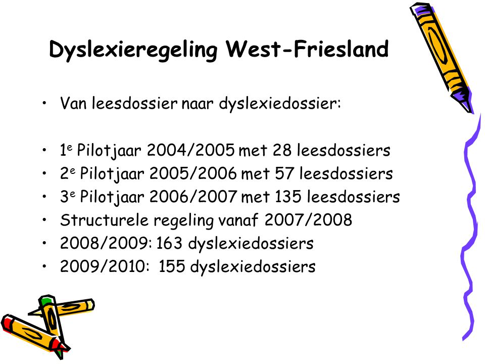 Dyslexieregeling West-Friesland