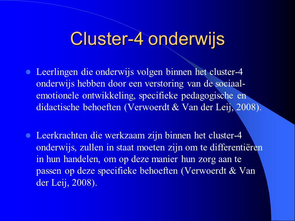 Cluster-4 onderwijs