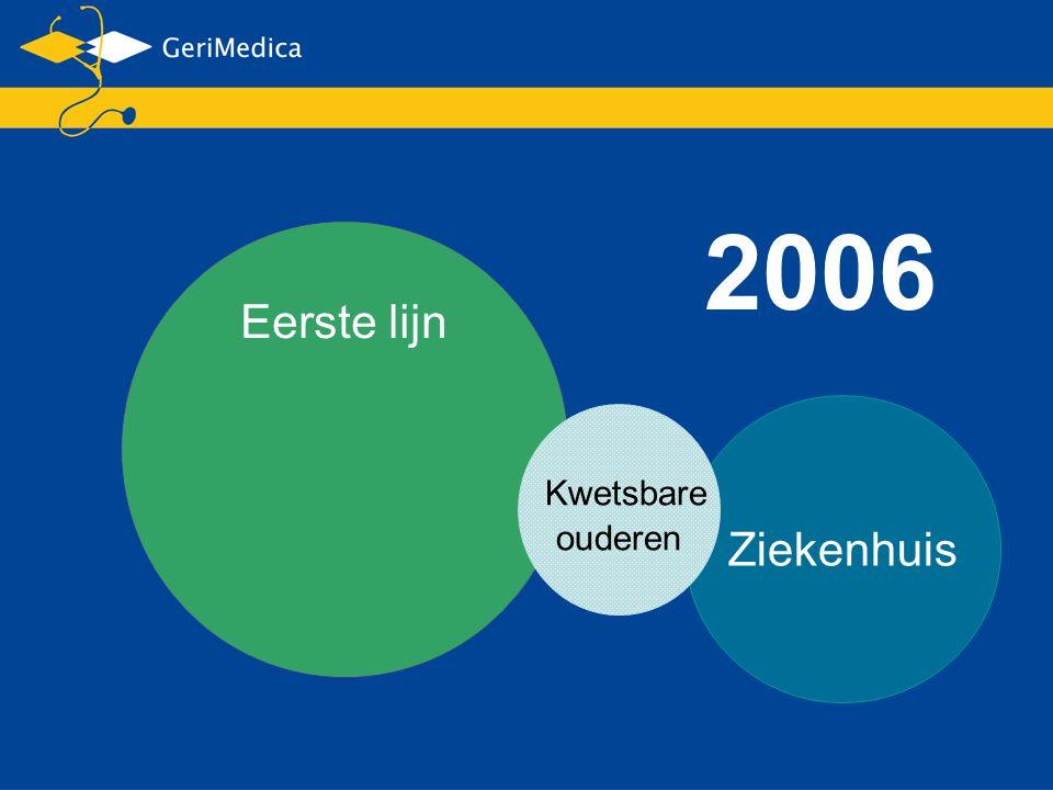 2006 Eerste lijn Ziekenhuis Kwetsbare ouderen