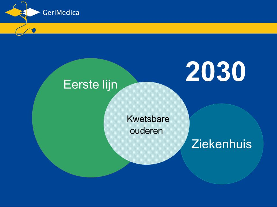 2030 Eerste lijn Kwetsbare ouderen Ziekenhuis