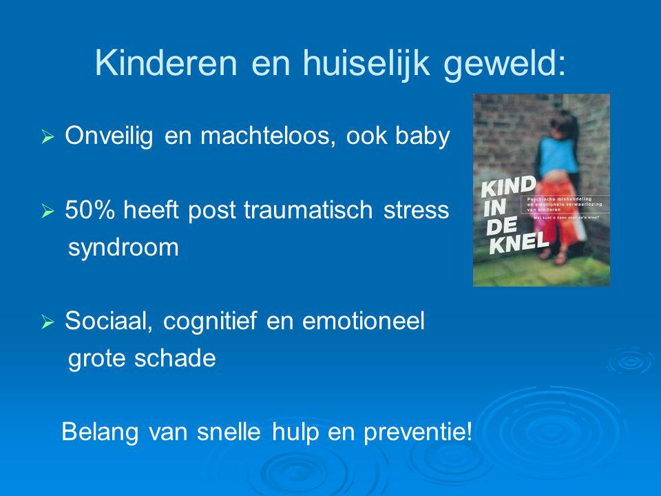 Kinderen en huiselijk geweld: