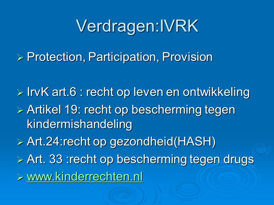 Verdragen:IVRK Protection, Participation, Provision
