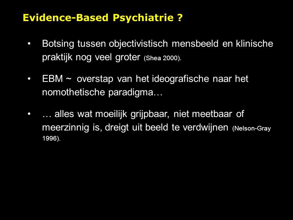Evidence-Based Psychiatrie