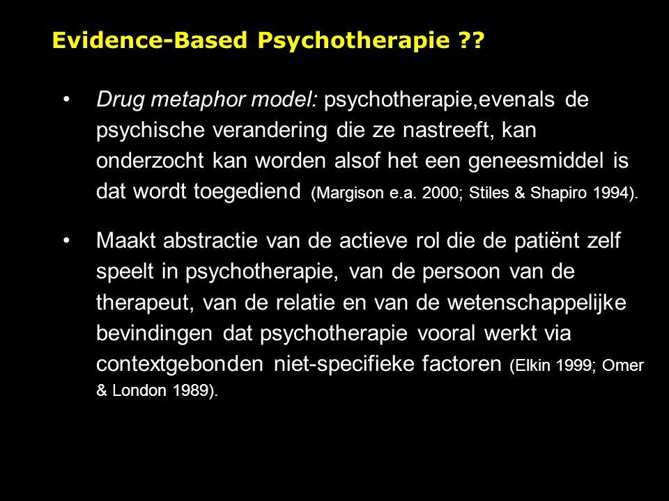 Evidence-Based Psychotherapie