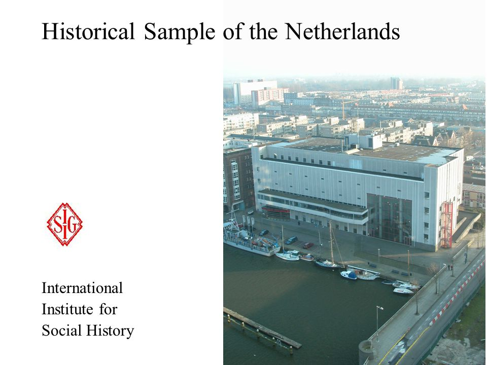 Historical Sample of the Netherlands