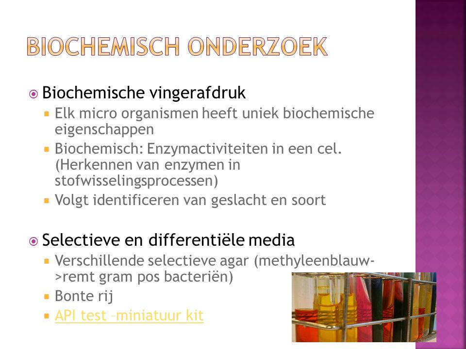 Biochemisch onderzoek