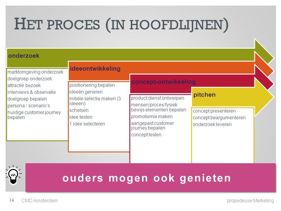 Het proces (in hoofdlijnen)