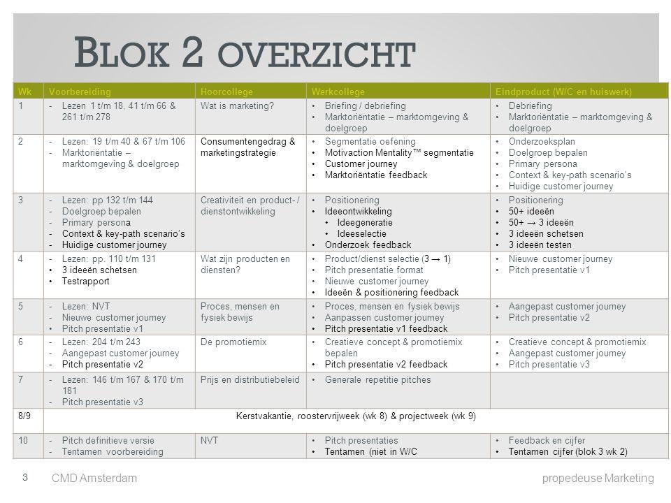 Kerstvakantie, roostervrijweek (wk 8) & projectweek (wk 9)