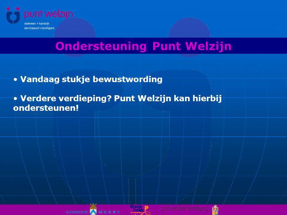 Ondersteuning Punt Welzijn