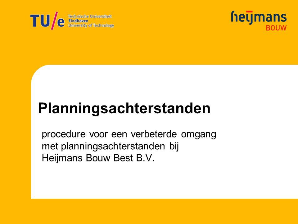 Planningsachterstanden