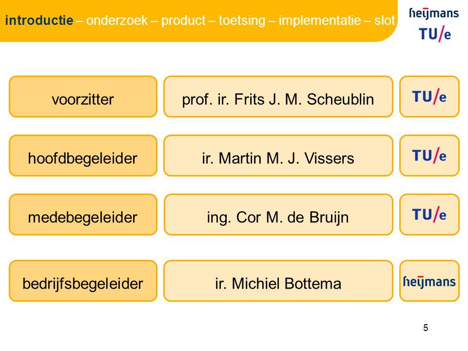 prof. ir. Frits J. M. Scheublin