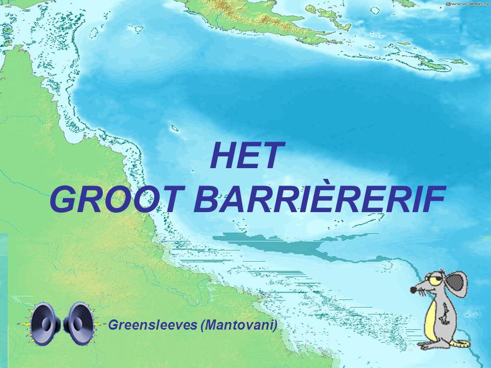 HET GROOT BARRIÈRERIF Greensleeves (Mantovani)