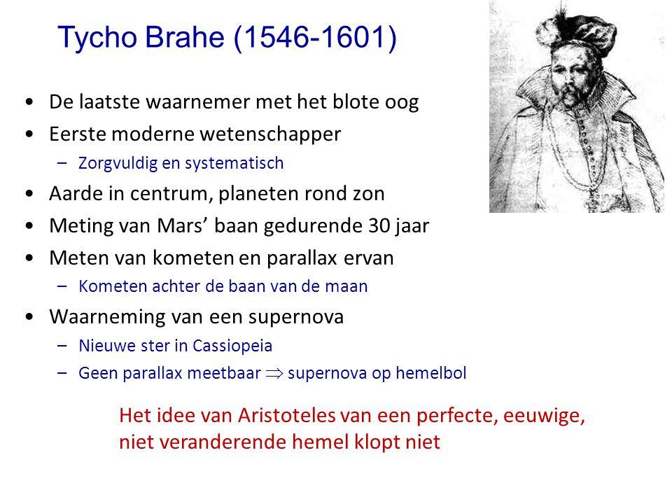 Tycho Brahe (1546-1601) De laatste waarnemer met het blote oog