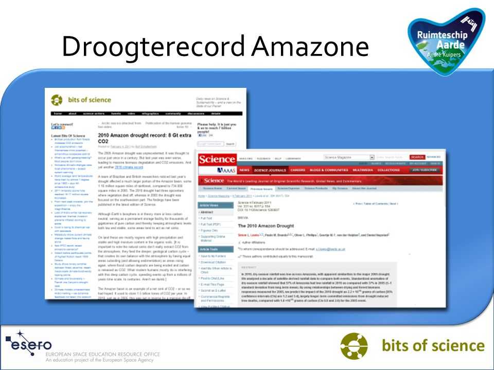 Droogterecord Amazone