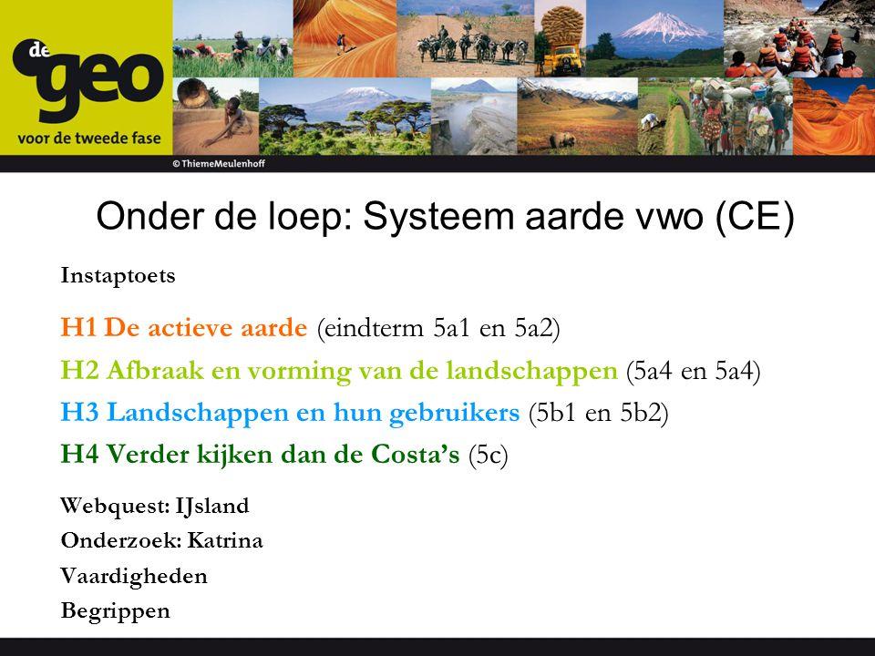 Onder de loep: Systeem aarde vwo (CE)