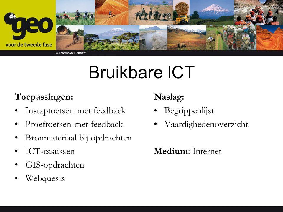 Bruikbare ICT Toepassingen: Instaptoetsen met feedback