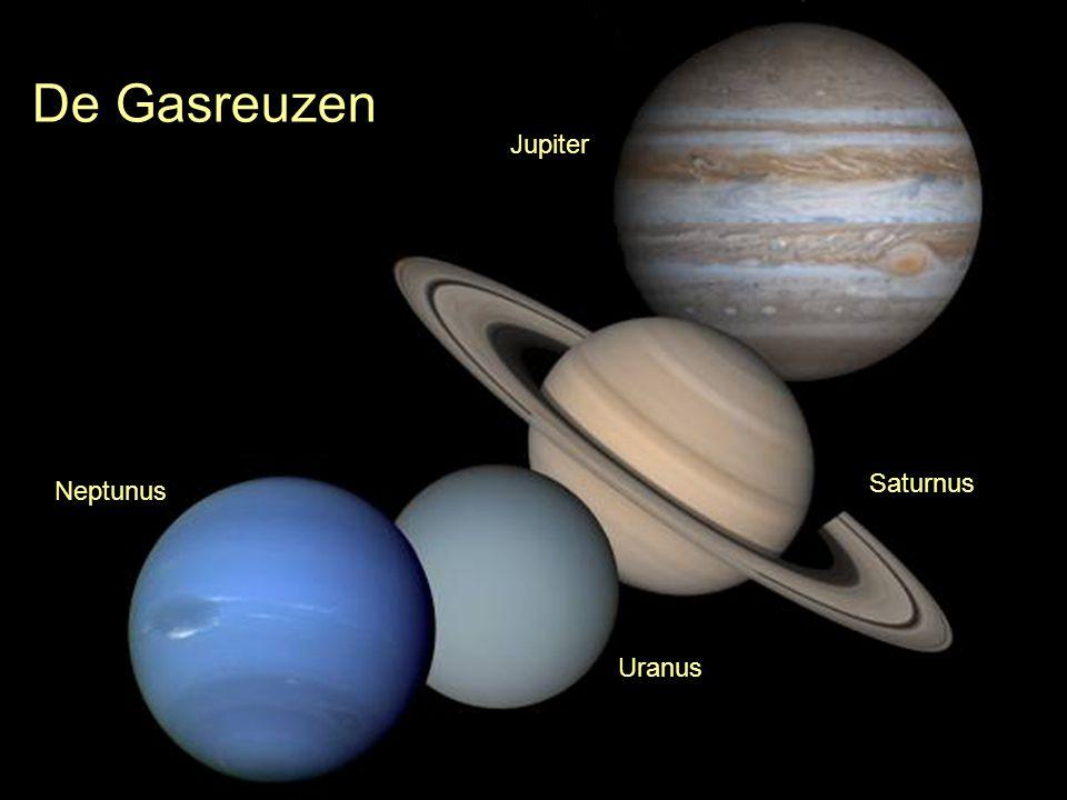 De Gasreuzen Jupiter Saturnus Neptunus Uranus
